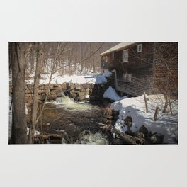 Grist Mill, Maine Rug