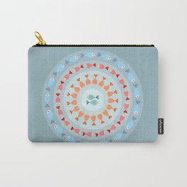 Fish mandala Carry-All Pouch
