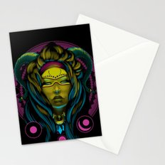 Neon Voodoo Stationery Cards