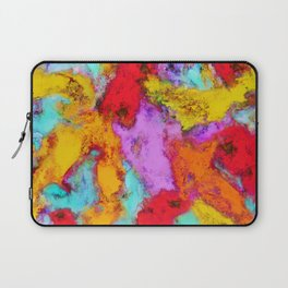 Floating temperatures Laptop Sleeve