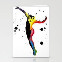 body Stationery Cards featuring Body by Svitlana M