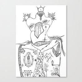 Les Femmes du Roi Canvas Print