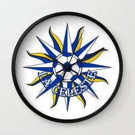 Uruguay La Celeste (The Sky Blue) ~Group A~ Wall Clock