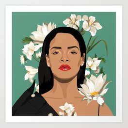 Who dat Art Print