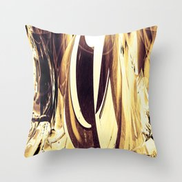 """""""Abstraction Solarized"""" Throw Pillow"""