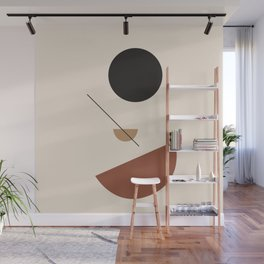 L'ascesa - On The Rise - modern abstract art hand drawn Wall Mural