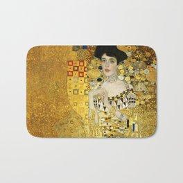"Gustav Klimt ""Portrait of Adela Bloch-Bauer I"" Bath Mat"