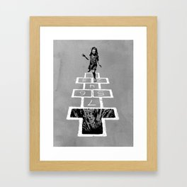 Hop To It Framed Art Print