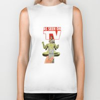 religion Biker Tanks featuring The New Religion by Michael Harford