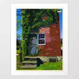 Ice House Collection: The Ice House in Spring Art Print