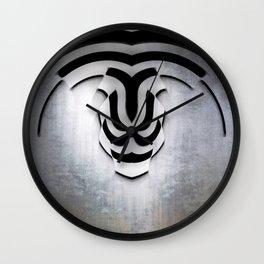 Curvilinear Art Wall Clock