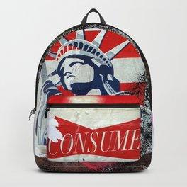 Liberty Consume New York Graffiti Backpack