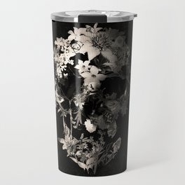 Spring Skull Monochrome Travel Mug