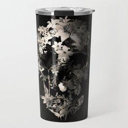 Spring Skull Monochrome Travel Mug