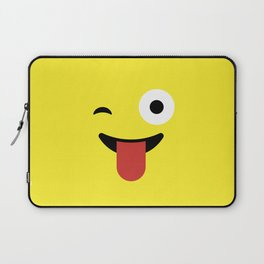 Tongue Out Emoji / Smiley Laptop Sleeve