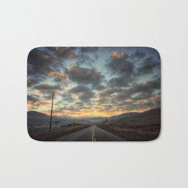 Road to Sunrise Bath Mat