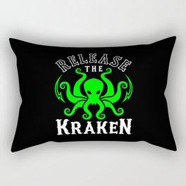 Release The Kraken Rectangular Pillow