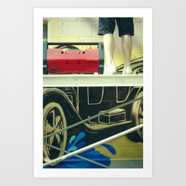 Graff 1 Art Print