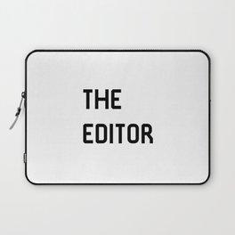 The Editor Filmmaking Movie Editing Film School Laptop Sleeve