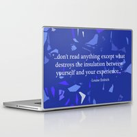 read Laptop & iPad Skins featuring Read. by Audrey Erickson