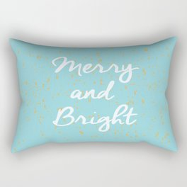 Merry and Bright Rectangular Pillow