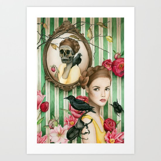 The Portrait of Dorianne Gray Art Print
