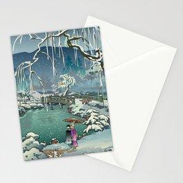 Ukiyo-e: Yuri on Ice Stationery Cards