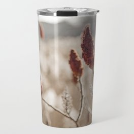 Sumac In Burnt Sienna, Namskaket River Travel Mug