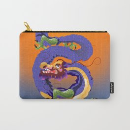 Tianjin China Dragon travel poster Carry-All Pouch