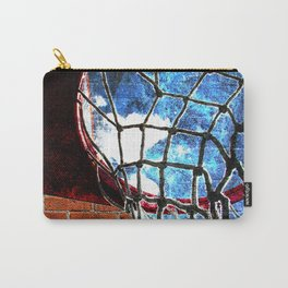 Basketball art swoosh vs 29 Carry-All Pouch