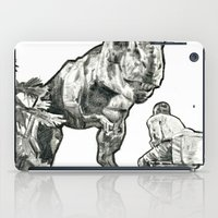 jurassic park iPad Cases featuring jurassic by BzPortraits