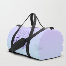 Lunar Rabbit / Jackalope // Purple Duffle Bag