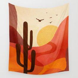 Hot Desert Day 4 Wall Tapestry