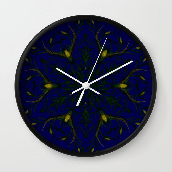 Sea of Shining Seaweed Wall Clock