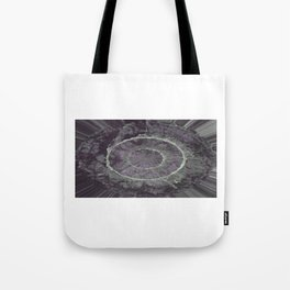 Abstract Purple Tote Bag