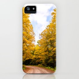 Follow the Colors of Fall iPhone Case
