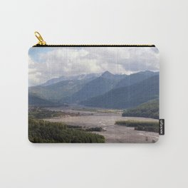 Toutle River Valley, Mount St Helens ash & debris Carry-All Pouch