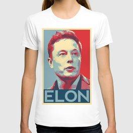 Elon Musk art T-shirt