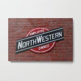 NorthWestern RR Metal Print