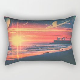 A Fax From the Beach Rectangular Pillow