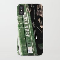 john green iPhone & iPod Cases featuring John Deere by Captive Images Photography
