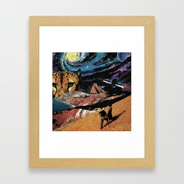 The Feline Framed Art Print