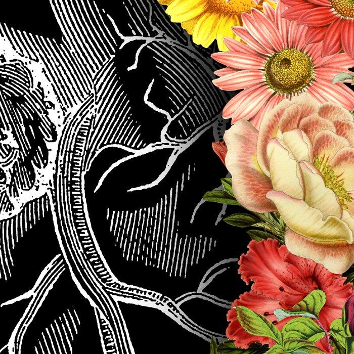 Flower Heart Spring Leggings