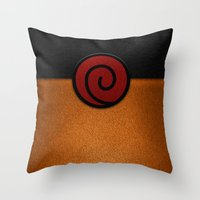naruto Throw Pillows featuring NARUTO by September 9