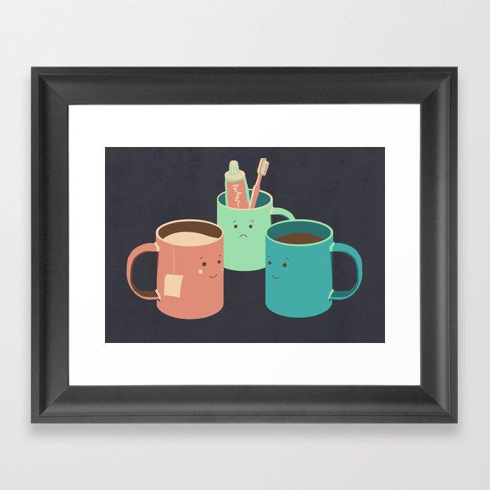 Mugs Framed Art Print