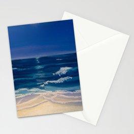 Night Beach Stationery Cards