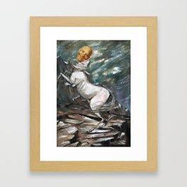 Eisenhower the Horse Framed Art Print