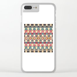 Budapest Voronoi Clear iPhone Case