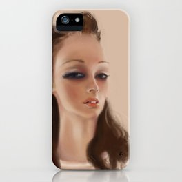 Cr4stal  iPhone Case