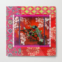 An afternoon in the oriental gardem Metal Print